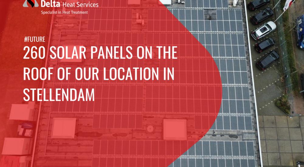 260 solar panels on the roof in Stellendam